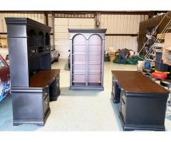 4PC SOLID CHERRY OFFICE SUITE