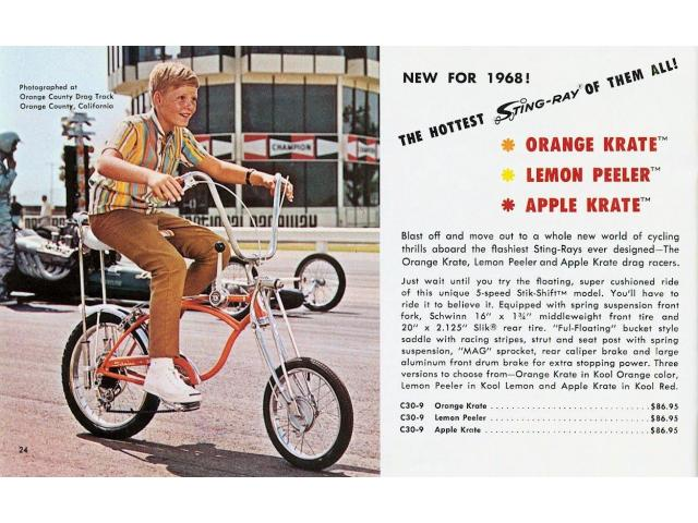 Want Trade For 1968 Sting Ray Bike